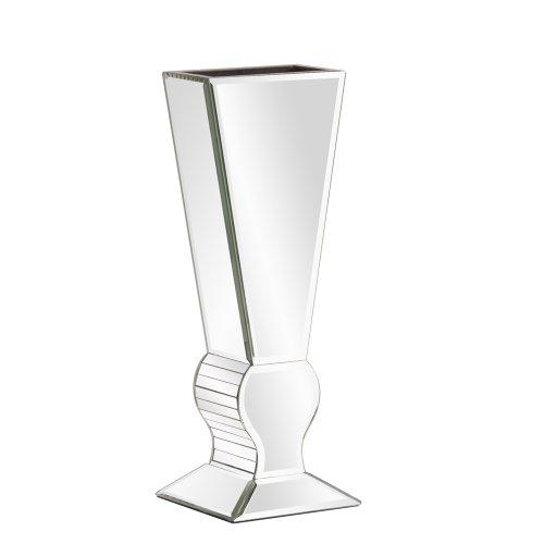 Howard Elliott 99012 Mirrored V-Shaped Vase, Small