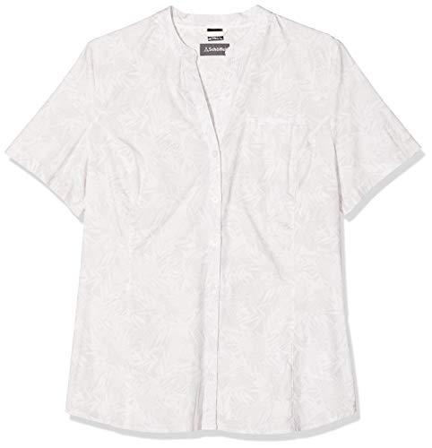 Schöffel Stralsund3 UV Chemisier à Manches Courtes Femme, Whisper White, FR : XL (Taille Fabricant : 44)