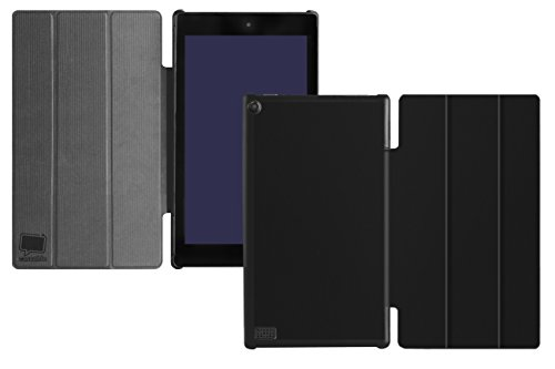 """caseable Fire HD 10 Cover (10"""" Tablet, 5th Generation - 2015 Release), Black"""