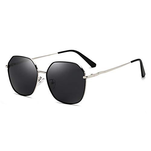 SSN Cara Redonda Gafas De Sol Polarizadas Versión Coreana De Gafas De Sol, Marea Femenina, Anti-Ultravioleta, Cara Grande, Era Un Estilo De Puerto Retro Delgado