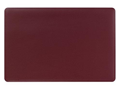 Durable 710203 - Vade de sobremesa con ranuras decorativas (530 x 400 mm), color rojo