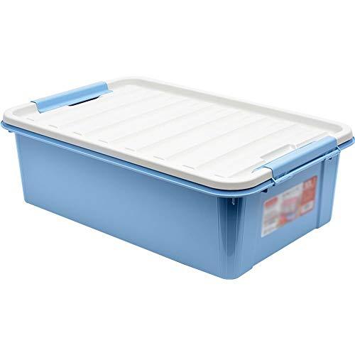 Kcakek Bed Storage Box Kleding Quilt plastic opbergdoos plastic opbergdoos Bedding Storage Bag Storage Basket Handige Storage Organizer Box Toy Storage Box Quilt doos met deksel