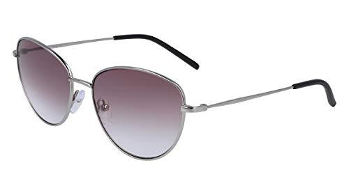 DKNY DK103S Gafas de sol, Plum, 56 MM, 16 MM, 135 MM para Mujer