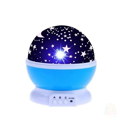 Luminária Abajur Star Master Lua Estrela Usb Galaxy Lighting