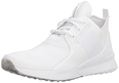 Reebok Women's GURESU 1.0 Sneaker, White/Black/Matte Silver, 6.5 M US