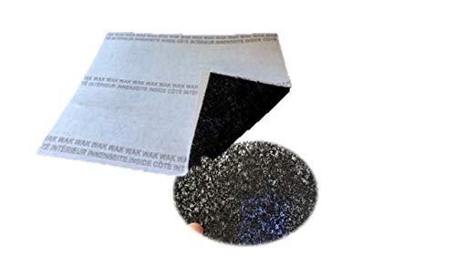 Dunstabzugshaube Filter universal 2 in 1 Aktivkohlefilter + Fettfilter Kombi Set 57 x 47cm