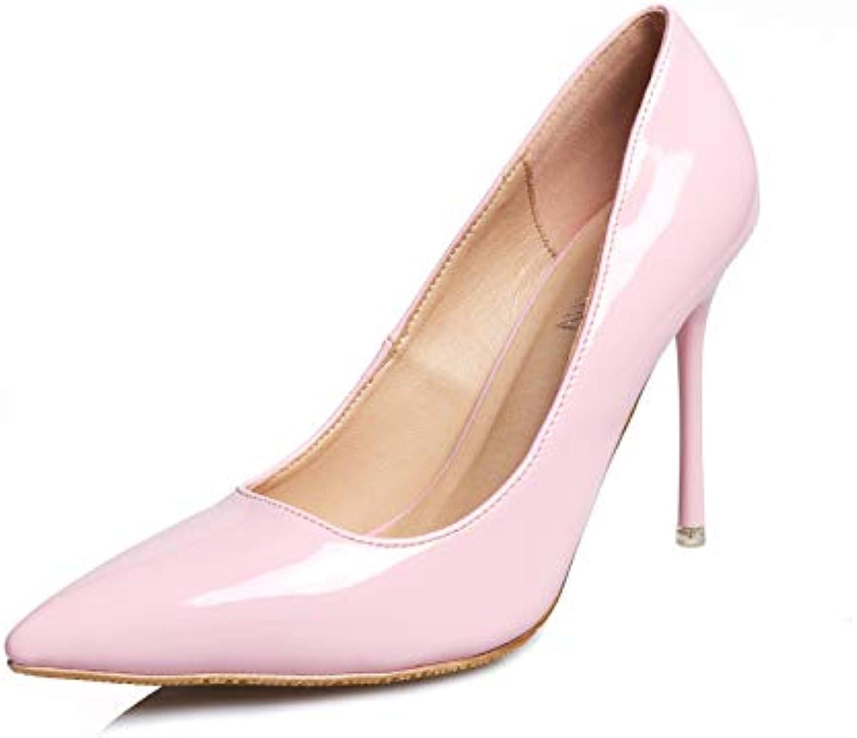 FLYRCX zeigte High Heels Damen Stiletto flachen Mund sexy Schuhe
