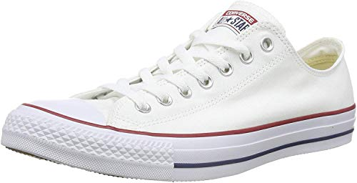 Converse Chuck Taylor All Star Ox, Zapatillas Unisex Adulto, Blanco (Optical White), 43 EU