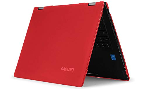 mCover Hard Shell Case for NEW 14' Yoga 530 (NOT compatible with older Yoga 520 / 510 / 500 series) laptop computers (Yoga 530 14' Red)