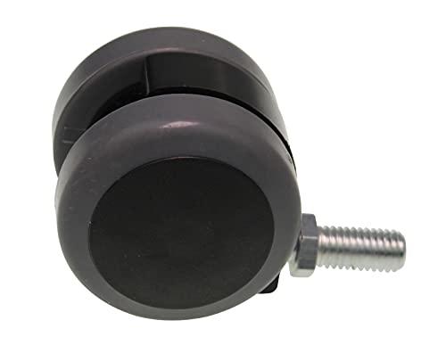Lenkrolle 50mmØ kompatibel mit/Ersatzteil für Kärcher 6.435-130.0 S500 S550 S650 Kehrmaschine
