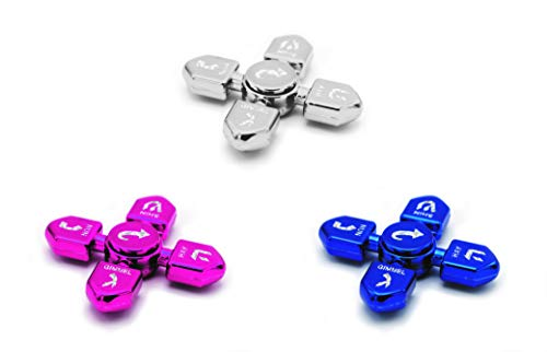 Find Discount Hanukkah Dreidel Spinner Multi-Pack! Silver, Blue, Pink Chanukah Toys!