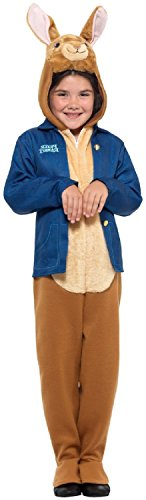 Boys Girls Peter Rabbit Official TV Book Film Beatrix Potter Animal World Book Day Week Fancy Dress Costume Outfit (7-9 Years) Blue-Brown