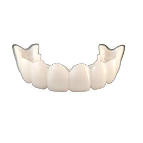 New Snap Smile Dental Upper False Teeth Cover Perfect Smile Veneers Comfort Fit Flex Denture Braces Teeth Whitening