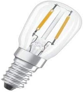Osram LED Star Special T26 Lampe, mit E14-Sockel, nicht dimmbar, Ersetzt 10 Watt, Filamentstil Matt, Warmweiß - 2700 Kelvin, 1er-Pack