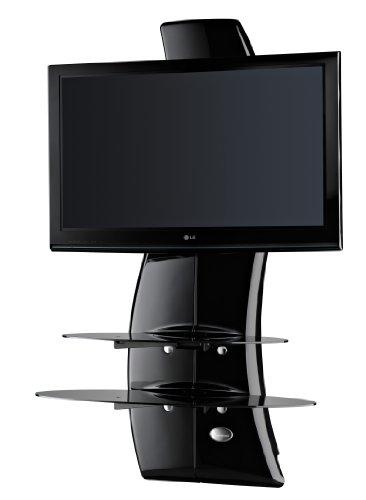 Meliconi Ghost Design 2000 (488064) (Schwarz) TV Wandhalterung 81 - 160 cm, (32-63 Zoll)