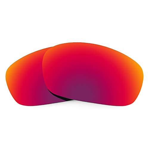 Revant Verres de Rechange Compatibles avec Oakley Jawbone, Polarisés, Soleil de Minuit MirrorShield