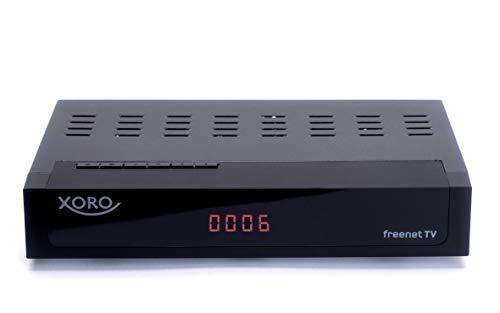 Xoro HRT 8770 Twin DVB-C/DVB-T2 Kabel FullHD Receiver, freenet TV, PVR, 1xUSB Schwarz