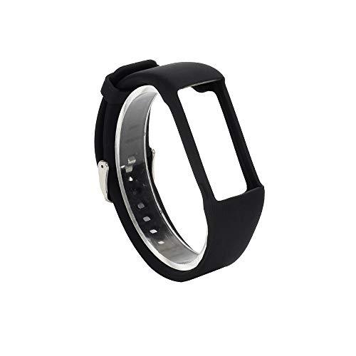 WEINISITE Armband für Polar A360, Soft Silikon Ersatzarmband für Polar A360 Smart Watch (Schwarz)