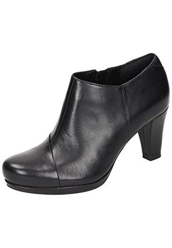 Clarks Chorus Jingle, Botas Mujer, Negro (Black Leather), 39 EU