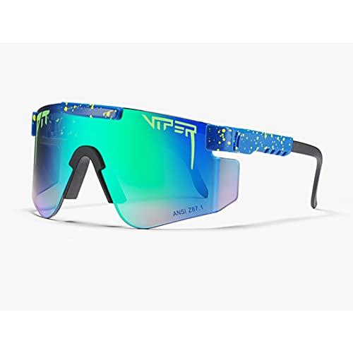Gafas de sol C30 Ciclismo Z87 lente TR marco grande PC integrado a prueba de viento gafas para ciclismo, béisbol, pesca, esquí correr, golf