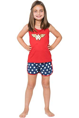 Intimo Girls' Wonder Woman Sporty Mesh...