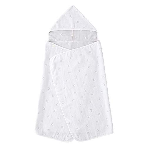 赤ちゃんの城 バスタオルローブ 無撚糸タオル 綿100% お風呂 沐浴 男の子 女の子 ミルキーウェイパイル 日本製