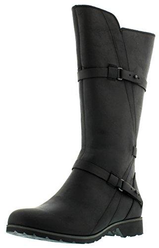 Hot Sale Teva Women's De La Vina Boot,Black,8.5 M US