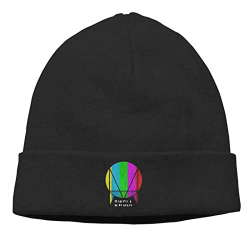 NaohBent Owsla Casual Beanie Caps Men Fashion Knitting Hat Women Warm Hedging Cap Outdoor One Size Black