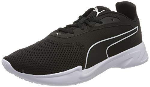 PUMA Jaro, Zapatillas de Running Hombre, Negro Black White, 42.5 EU