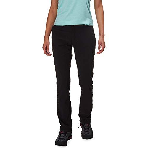 The North Face Wandur Pantalones de Senderismo para Mujer, TNF Black, Regular, 8