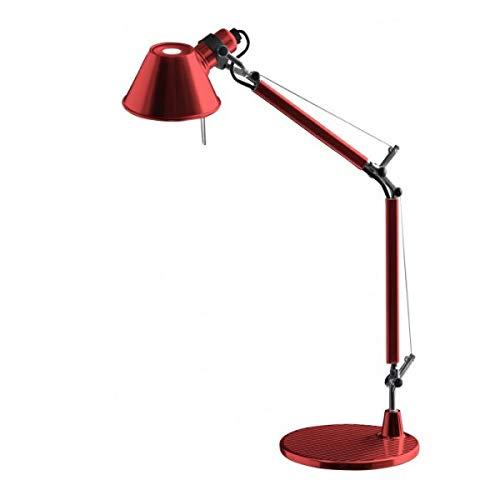 Artemide Tolomeo Micro LED Lampada da Tavolo Rosso