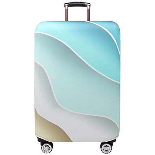 MAZS Travel Elastic Luggage Protective Suitcase Cover 18-32 inch travel accessories Eye-catching luggage cover