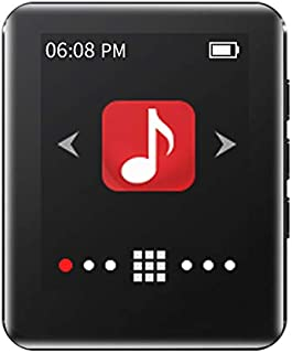 "RUIZU M4 HiFi Music Portable Mini Bluetooth MP3 Player 1.8"" Full Touch Screen FM Radio E-Book Pedometer Video Player (8GB,..."