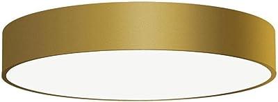Plafonnier LED ISIA 3453/60, Ø 60 cm, 55 W, 4000 K, 5250 lm, CRI > 90, doré, On-Off