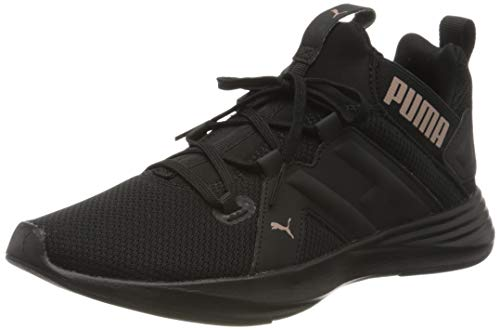 PUMA Damen Contempt Demi WN's Sneaker, Schwarz Black-Rose Gold, 36 EU