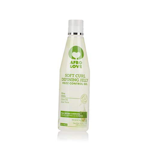 Afro Love Soft Curl Defining Jelly – gel anti-encrespamiento para pelo rizado sin alcohol, parabenos o siliconas 290ml