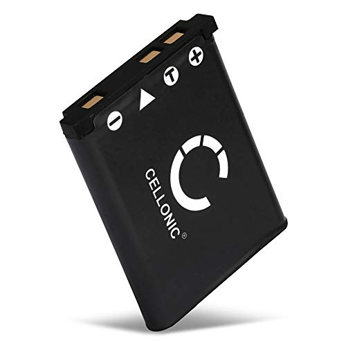CELLONIC® Batería Compatible con Casio Exilim EX-H15 -H5 -H50 EX-ZS5 -ZS6 -ZS100 -ZS150 EX-Z800 -Z550 -Z350 -Z330 -Z33 -Z35 -Z2 EX-G1 EX-MR1 QV-R200, NP80 700mAh NP-80 NP-82 Pila Repuesto