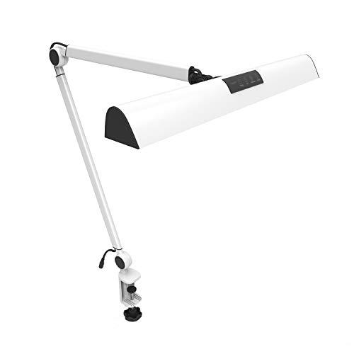 YOUKOYI A509 LED Swing Arm Architect Desk Lamp Clamp