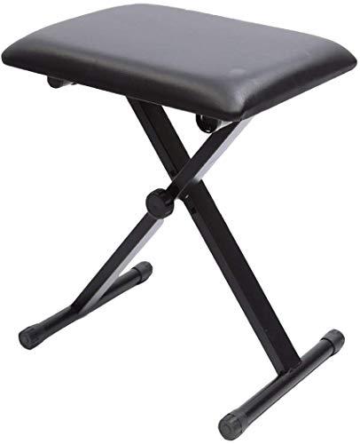 Why Choose RUIMA Keyboard Piano Bench Stool Seat Adjustable Folding X Frame Strong Organ New