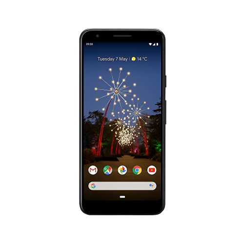 Google Pixel 3a XL LTE 64GB 4GB RAM Schwarz SIM Free