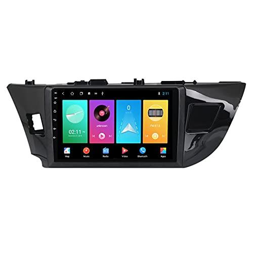 ADMLZQQ para Toyota Corolla 2012-2016 Android 10.0 Car Radio Estéreo para Automóvil, 9 Pulgadas Pantalla Táctil Bluetooth Carplay FM Am RDS DSP Control Volante Cámara Trasera,A,M150S 4Core 2+32G