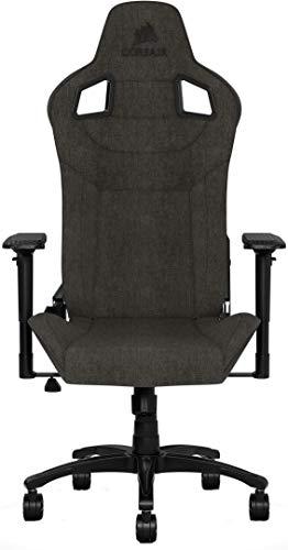 Corsair T3 Rush Gaming-Stuhl, Stoff, Schwarz, 0