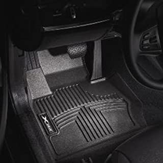 BMW All Weather Rubber Floor Liners / Black Front-82112220870 for 2006-2011 3-series Sedans & Coupes (Non-xi)