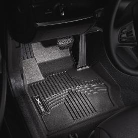 BMW All Weather Rubber Floor Liners/Black Front-82112220870 for 2006-2011 3-Series Sedans & Coupes (Non-xi)