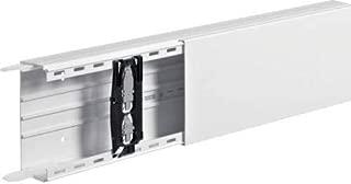 Hager LF6015009010 Bandeja porta - Cable (Bandeja portacables recta, 7122 mm², PVC, Blanco, 150 mm, 60 mm)