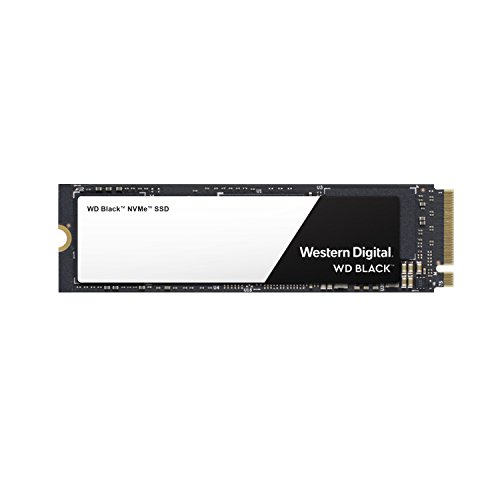 Western Digital WD Black NVMe - Disco duro sólido SSD 250GB, M.2, PCI Express 3.0, 3400 MB/s