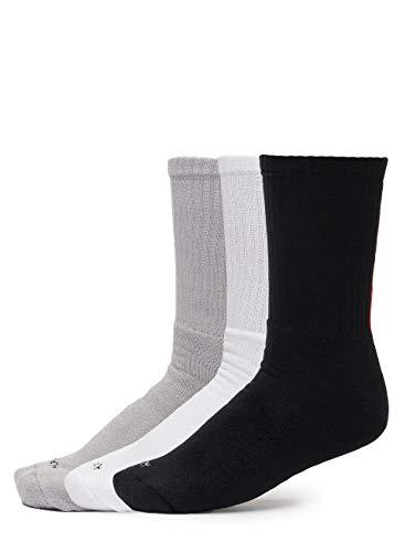 Alpha Industries Herren Socken 3 Pack RBF grau 36-40