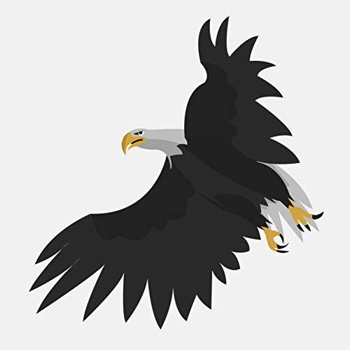 GQQ Auto Sticker 14,5 Cm*15,4 Cm Cartoon hand getekend vliegen Eagle Pvc Auto Sticker Toon uw persoonlijkheid 1 exemplaar
