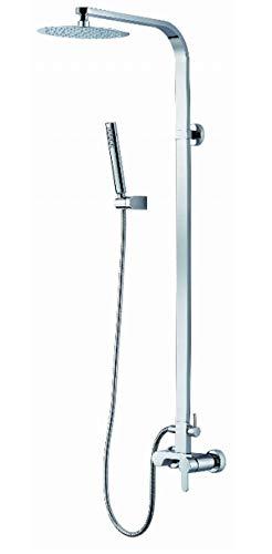 Bluewater gal-zkpn. 400C sistema para duchas cabina coloca sobre el yeso de–gris (–)