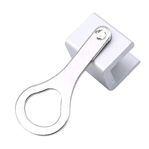 1PCS Ventana corredera ajustable Cerraduras de parada de aleación de aluminio Cerradura de marco de puerta de seguridad-1